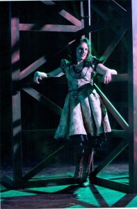 Stephanie Izsak as Ilse Credit: David Cooper