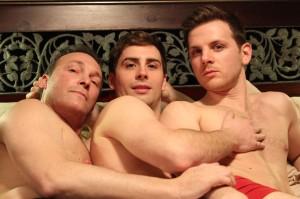 Ari Solomon, Sean Harris Oliver  and Kevin Kraussler Credit:  Michael O'Shea