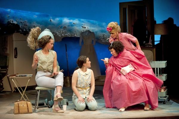 Georgina Beaty, Bridget Esler, Wendy Noel and Dawn Petten Credit: Emily Cooper