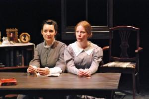 Olesia Shewchuk and Victoria Lyons Credit: Nancy Caldwell