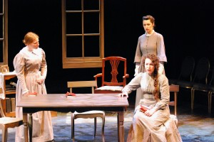 Victoria Lyons, Olesia Shewchuk and  MariaLuisa Alvarez (front) Credit: Nancy Caldwell
