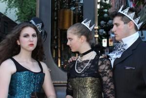 Sofia Bunting Newman, Leila Raye and Seamus Fera Credit: Kazandra Pangilinan