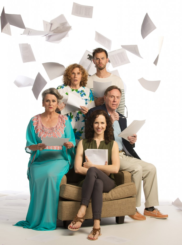 Clockwise from left: Gabrielle Rose, Gwynyth Walsh, Benjamin Elliott, Allan Gray and Anna Galvin Credit: David Cooper