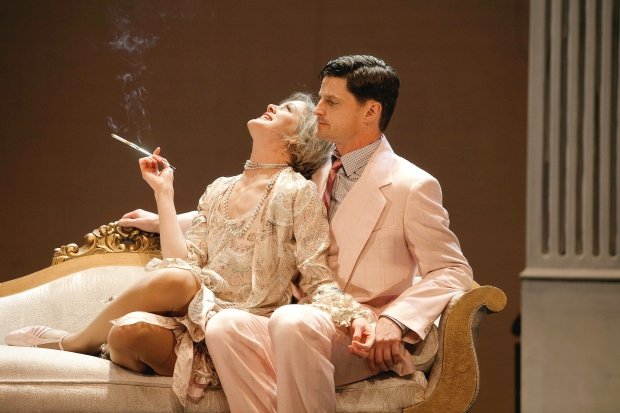 Amy Rutherford (as Daisy) and Bob Frazer (Gatsby) Credit: Trudie Lee