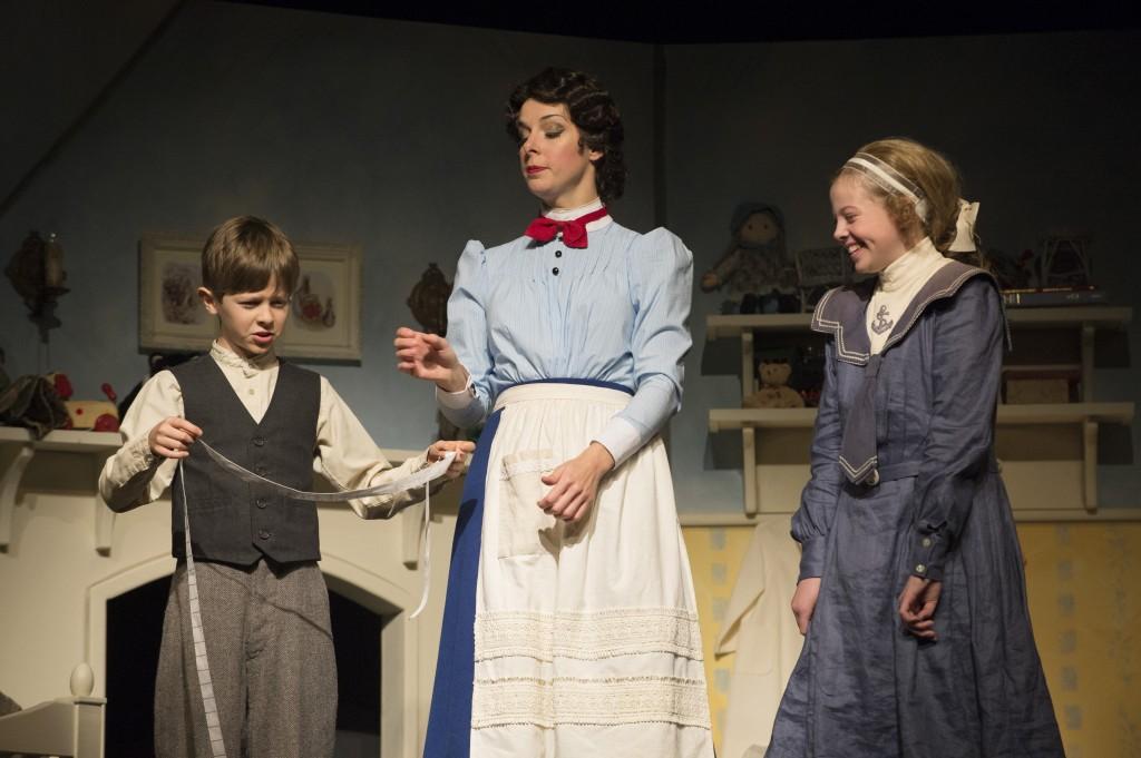 Graham Verchere, Sara-Jeanne Hosie and  Kassia Danielle Malmquist Credit: David Cooper