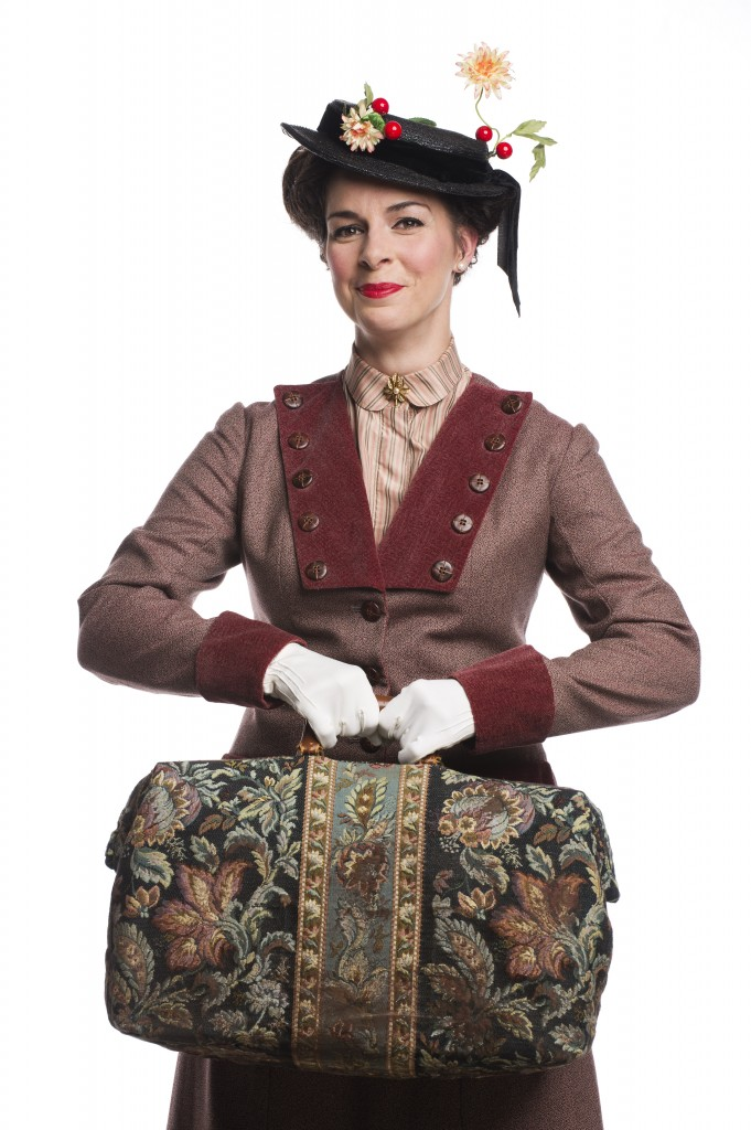 Sara-Jeanne Hosie as Mary Poppins Credit: David Cooper