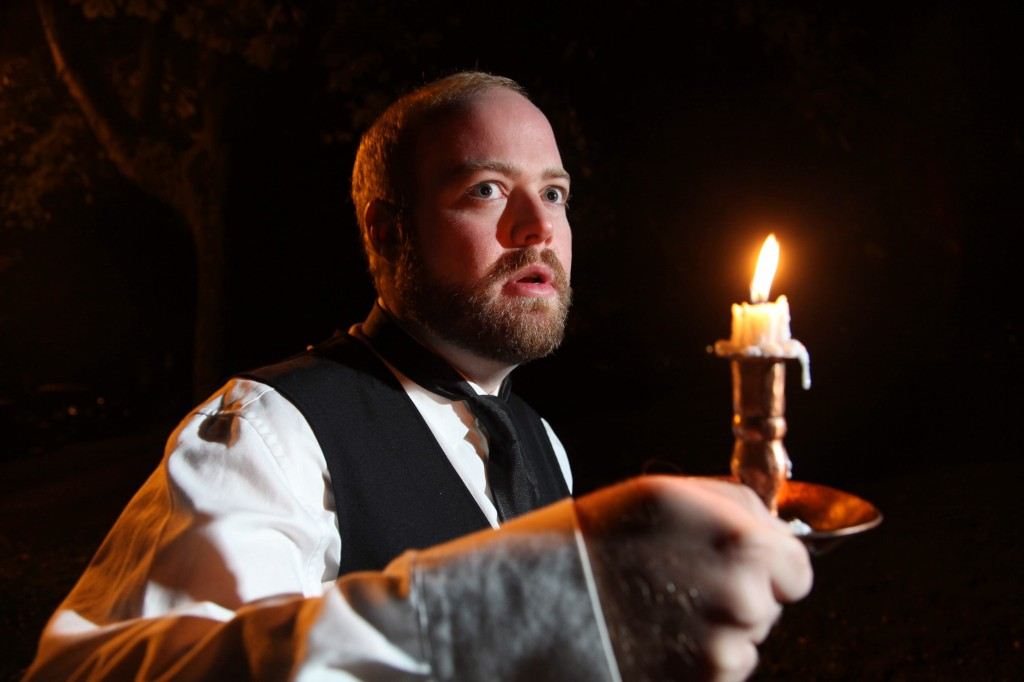 Chris Cochrane as The Actor in The Woman in Black