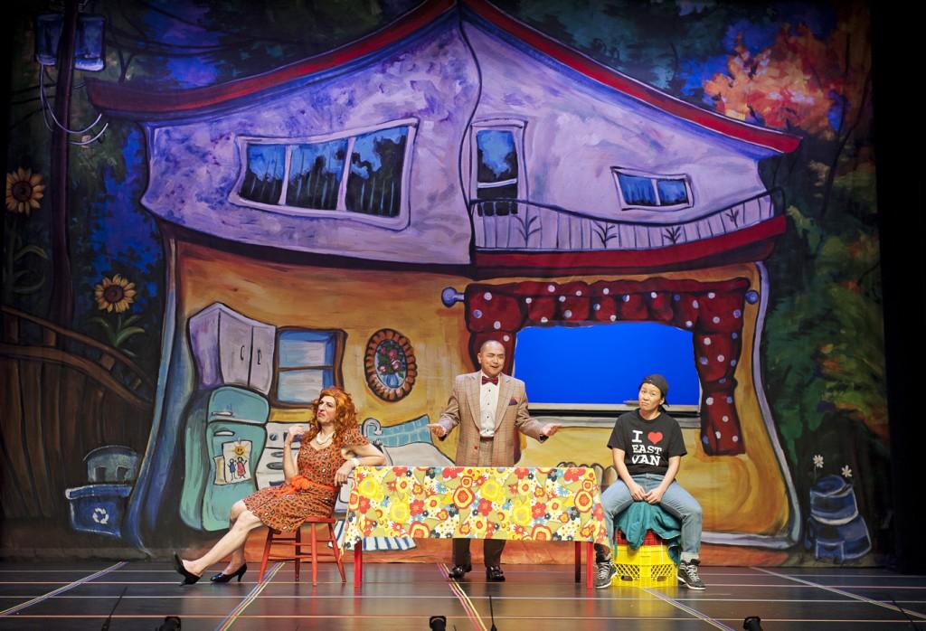 Allan Zinyk, Raugi Yu and Maiko Bae Yamamoto Credit: Emily Cooper