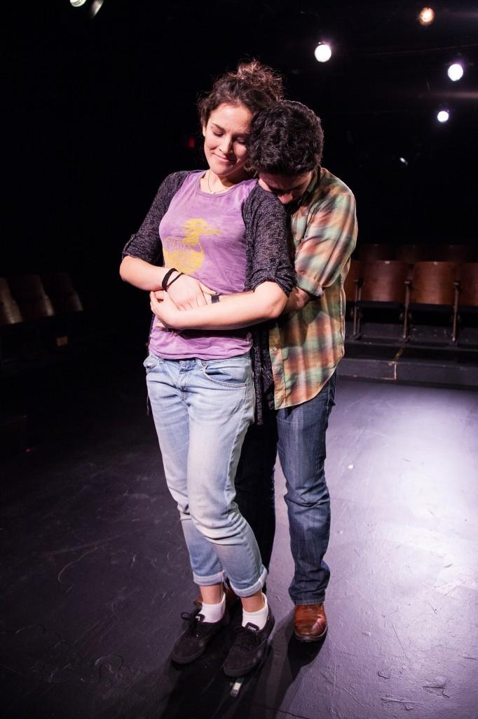 Stephanie Izsak and Kayvon Kelly Credit: Shimon Karmel
