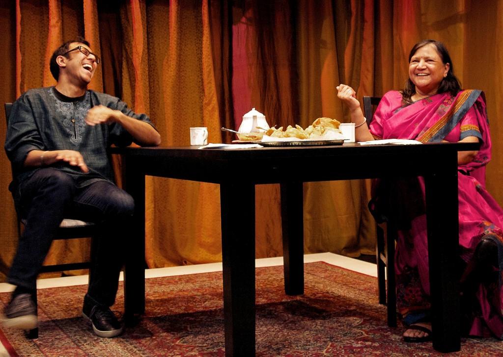 Ravi Jain and Asha Jain Credit: Erin Brubacher