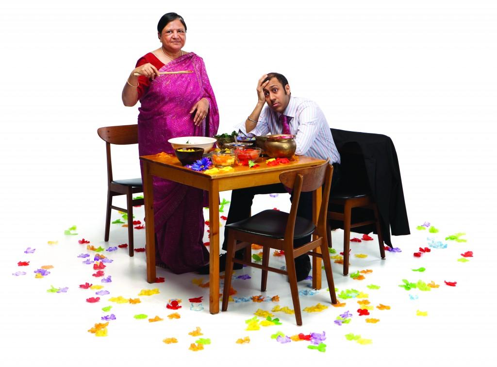 Asha Jain and Ravi Jain Credit: Cylla von Tiedmann