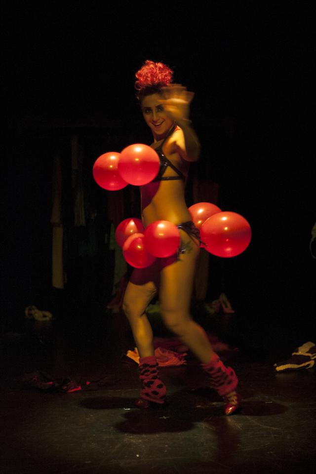 Lisa-Marie Marrelli as Clown Angel Credit: Joel Dufrense