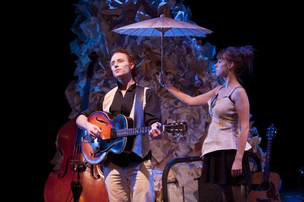 Steve Charles and Lauren Bowler Credit: David Cooper