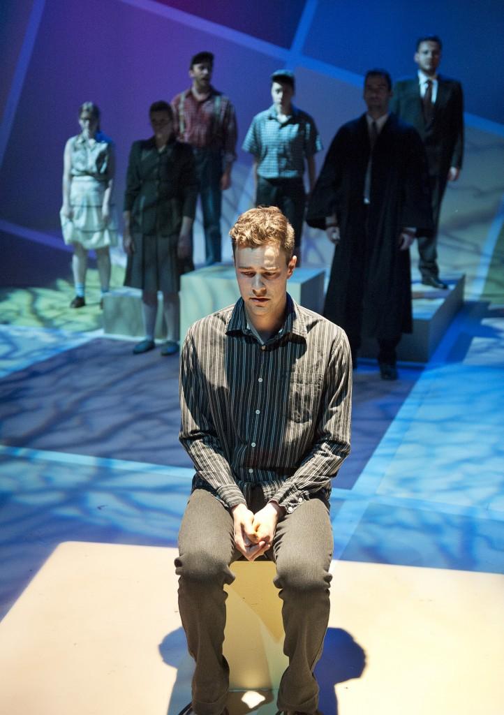 Mike Gill as Steven Truscott Credit: Emily Cooper