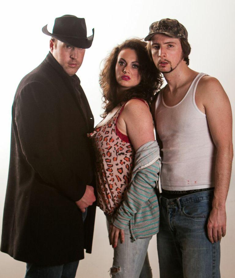 Colby Wilson, Emma Slipp and Sebastien Archibald Credit: Andrew Klaver