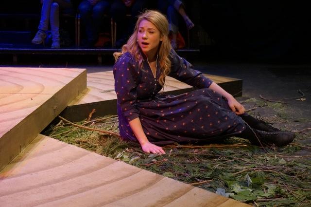 Sarah Smith as Wendla. Credit: Linda Leong