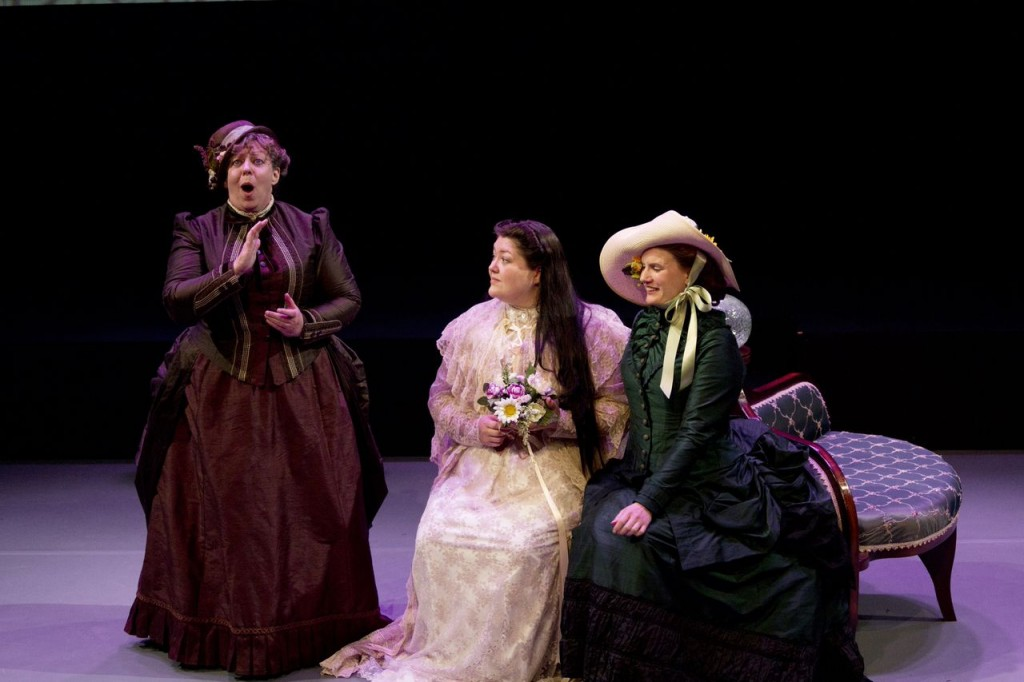 Diane Speirs, Rose-Ellen Nichols and Eleonora Higginson Credit: Michelle Doherty Photography