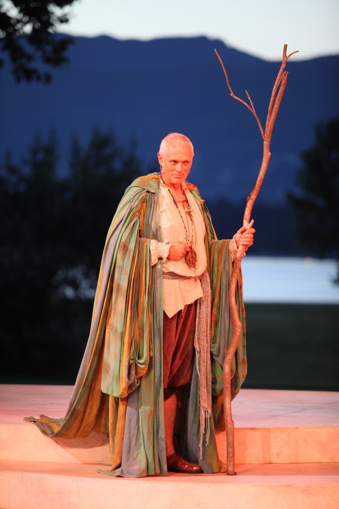 Allan Morgan as Prospero Credit: David Blue