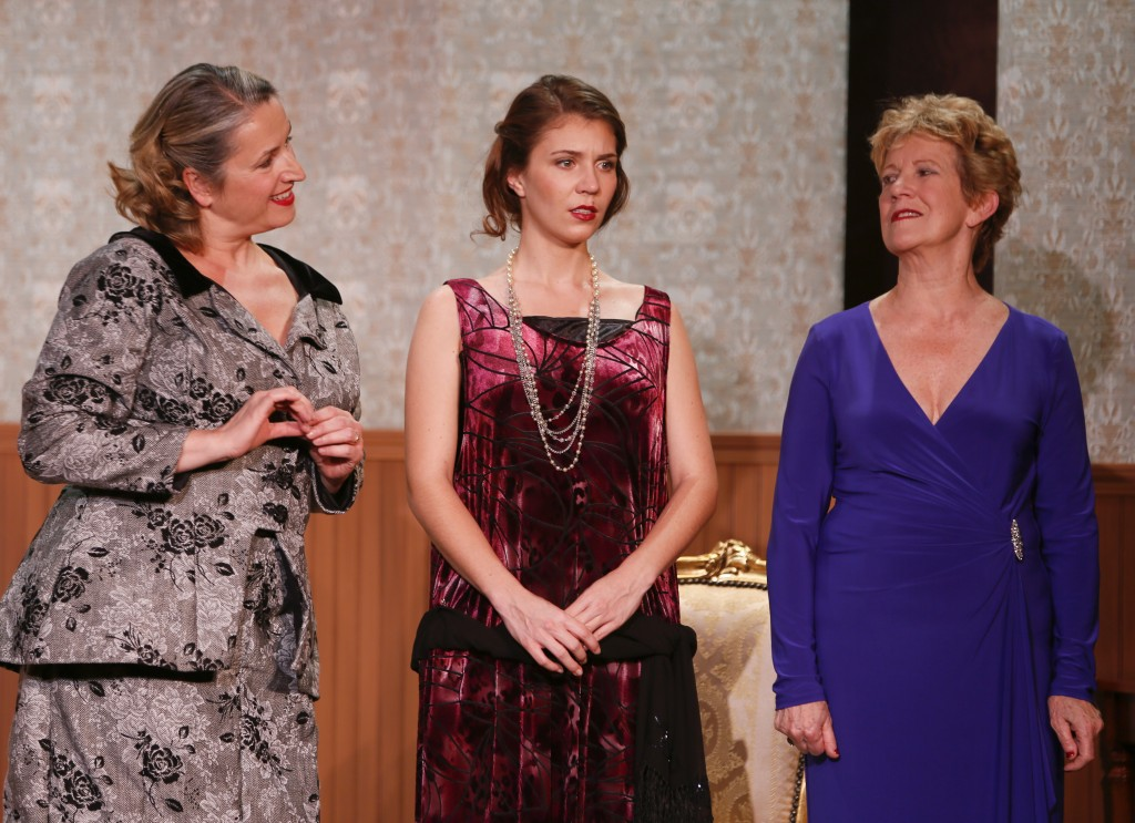 Act 2: Beatrice Zeilinger, Meaghan Chenosky and Anna Hagen Credit: Tim Matheson