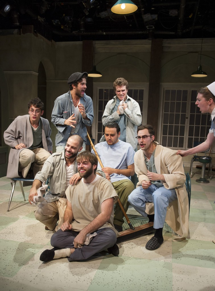Clockwise from seated in front: Derick Neumeier, Arash Ghorbani, Carlen Escarraga, Markian Tarasiuk, Owen Bishop, Erin Cassidy, Mike Gill and John Cook Credit: David Cooper