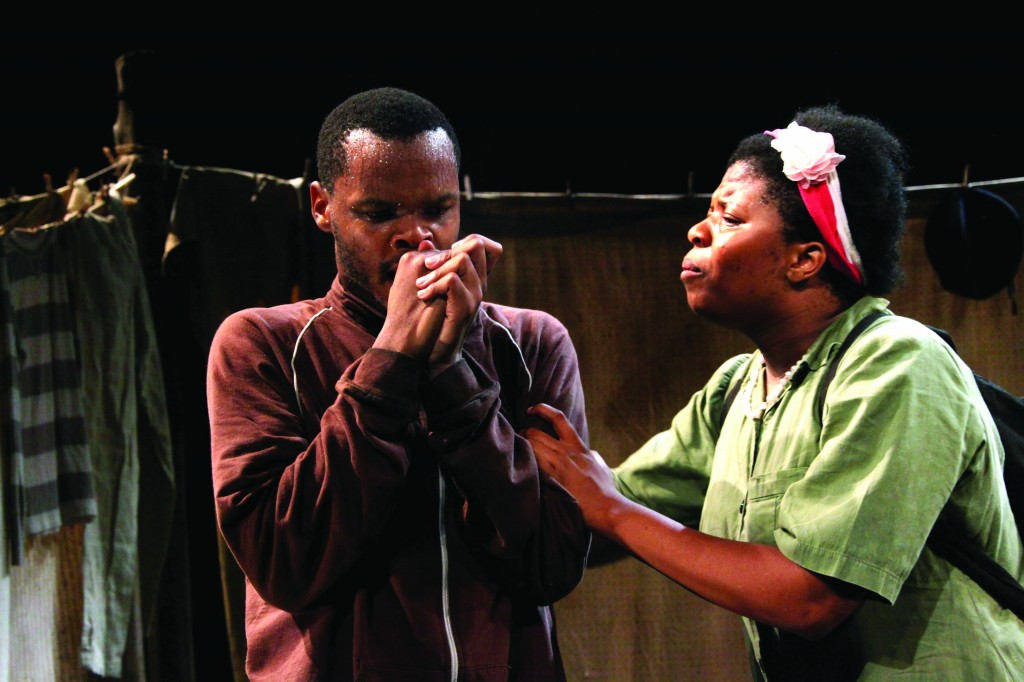Omphile Molusi and Lillian Tshabalala Credit: Ruphin Coudyzer