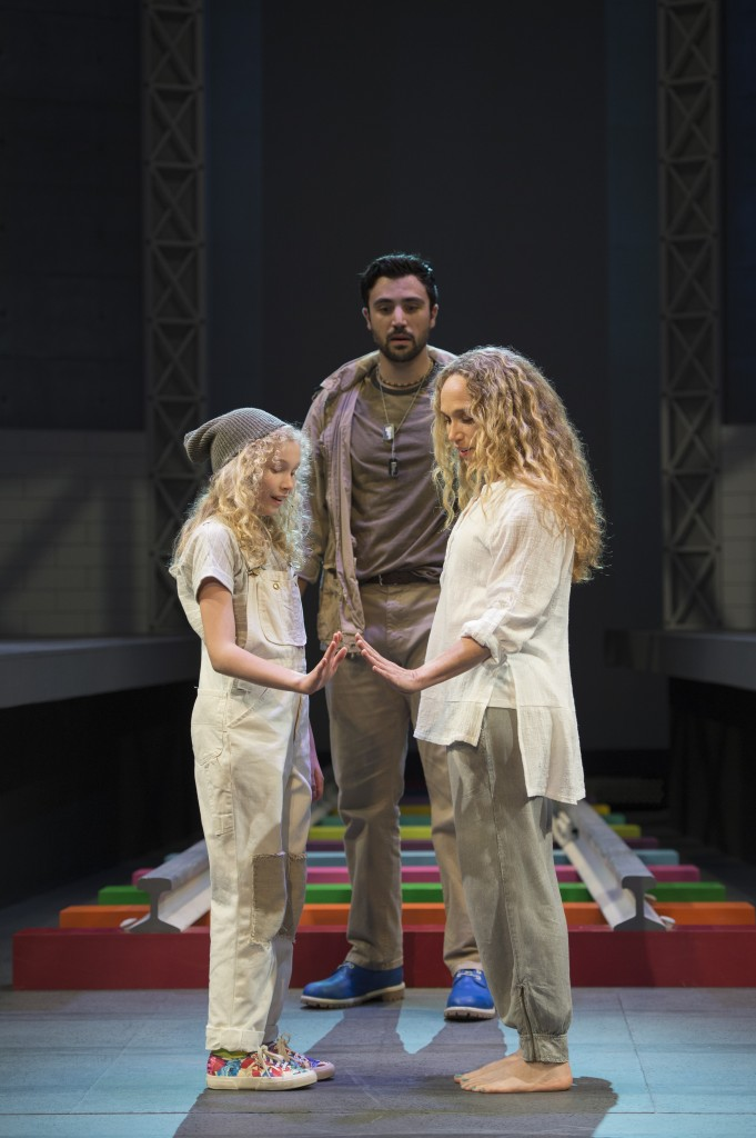Aubrey Joy Maddock,  Andrew Cohen and Jennifer Copping Credit: David Cooper