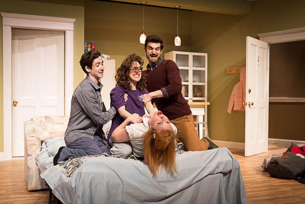 Amitai Marmorstein, Goldie Hoffman, Kayla Dunbar and Alex Rose Credit: Len Grinke
