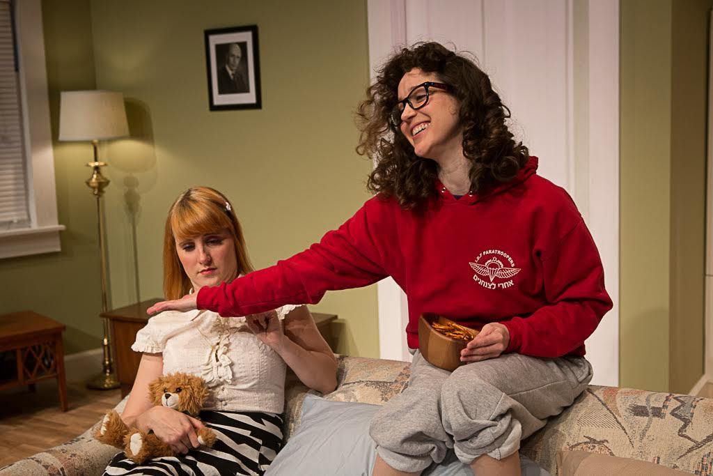 Kayla Dunbar and Goldie Hoffman Credit: Len Grinke