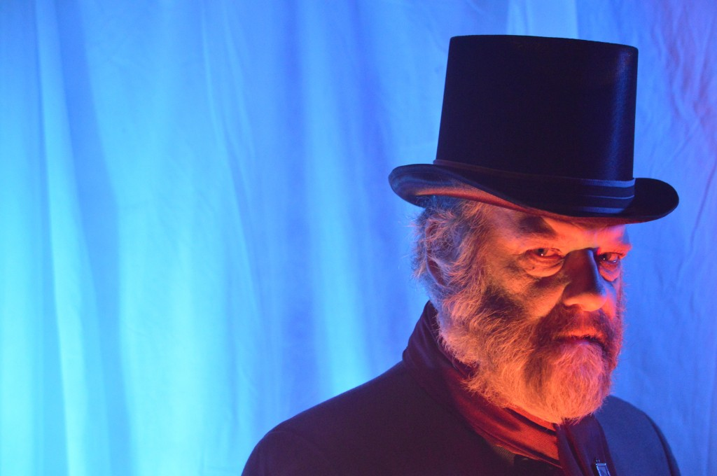 Andrew Wheeler as Ebenezer Scrooge Credit: David Newham