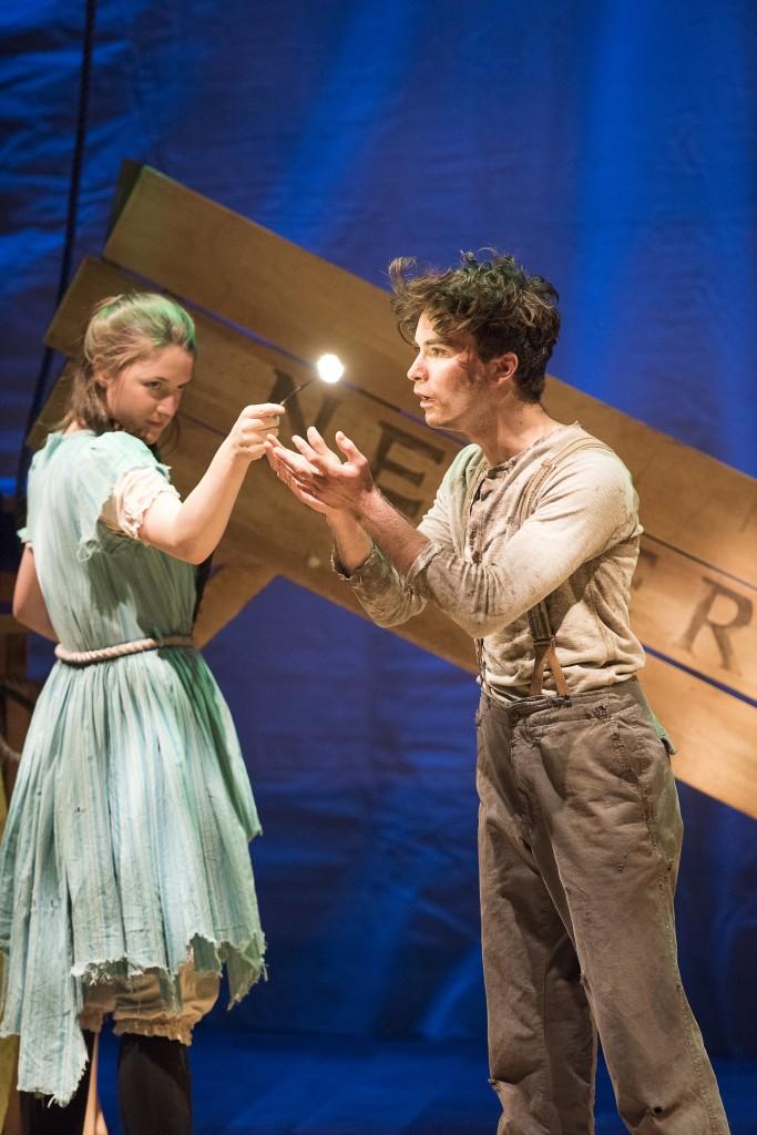 Rachel Cairns and Benjamin Wardle Credit: Emily Cooper