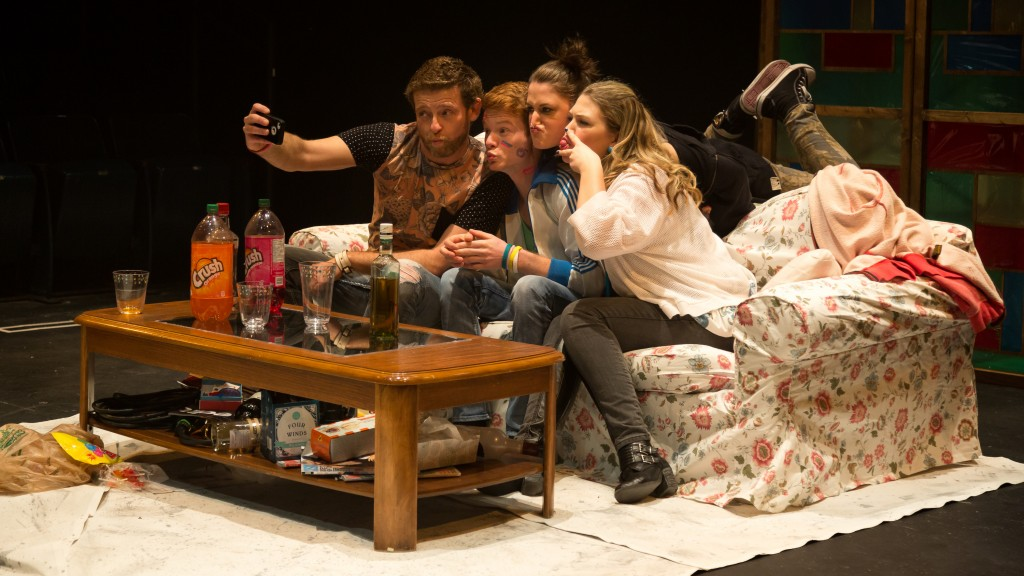 Dimitry Chepovetskyj, Curtis Tweedie, Rachel Cairns and Genevieve Fleming Credit: Mark Halliday