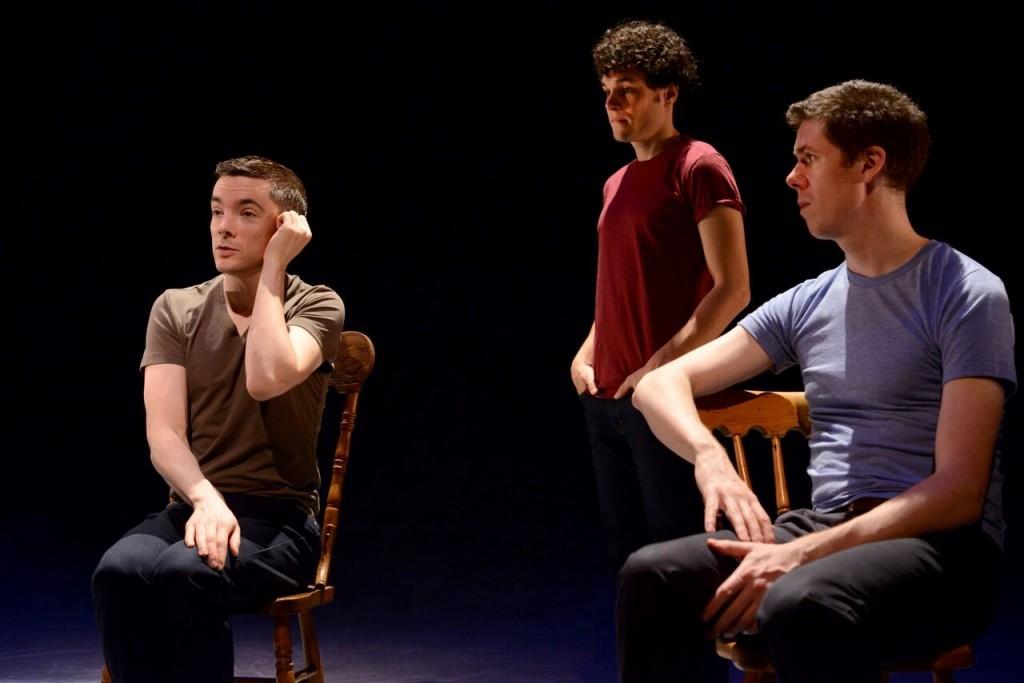 Paul Dunn, Andrew Kushnir and Damien Atkins Credit: Guntar  Kravis