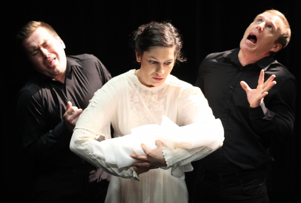 Scott Augustine, Sinziana Corozel and Shane Snow Credit: Darryl Ahye