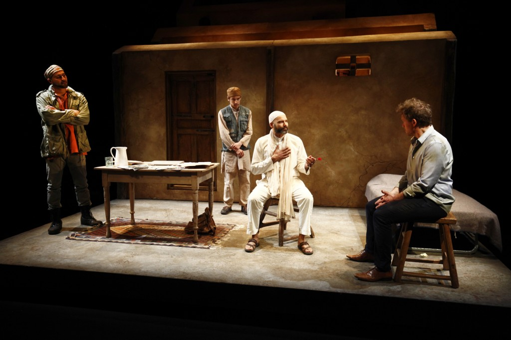Munish Sharma, Conor Wylie, Shaker Paleja and Craig Erickson. Set design: David Roberts Credit: Tim matheson