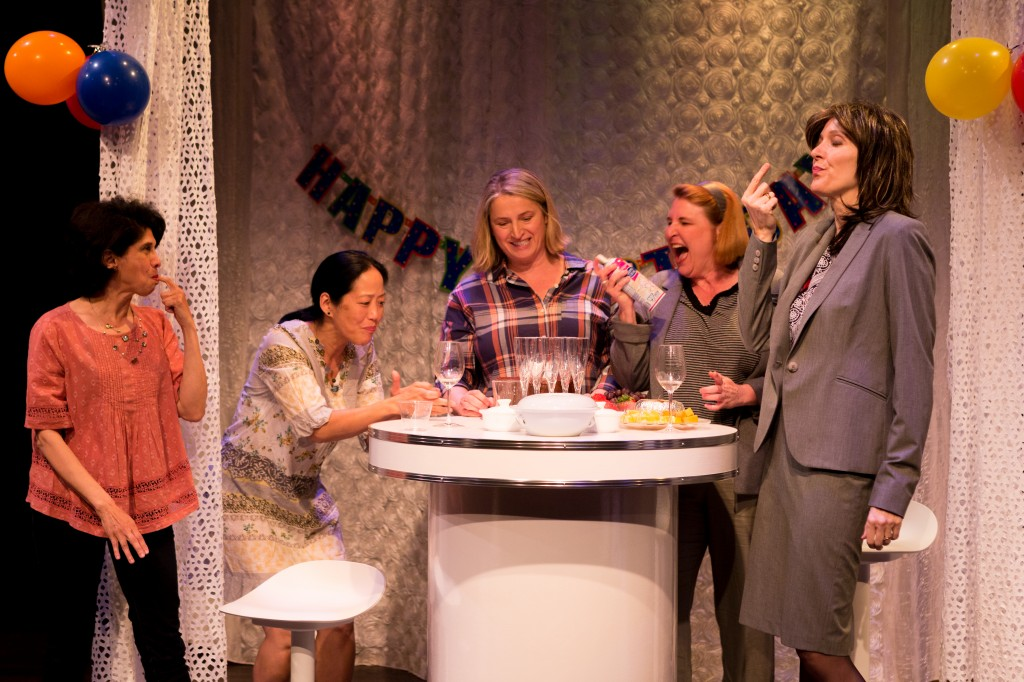 Veena Sood, Donna Yamamoto, Beatrice Zeilinger, Deborah Williams and Diane Brown Credit: Tina Krueger