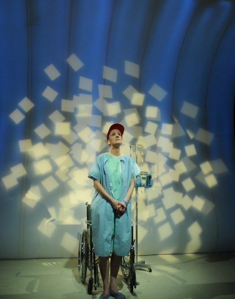 Katharine Venour. Set design: John Webber Credit: Damon Calderwood